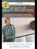 40 Days of Biblical Declarations: Advancing from Test to Testimony Through the Activation of God's Word
