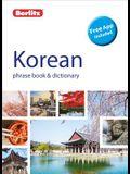 Berlitz Phrase Book & Dictionary Korean (Bilingual Dictionary)