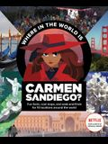 Where in the World Is Carmen Sandiego?: With Fun Facts, Cool Maps, and Seek and Finds for 10 Locations Around the World