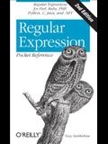 Regular Expression Pocket Reference: Regular Expressions for Perl, Ruby, Php, Python, C, Java and .Net