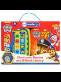 Nickelodeon - Paw Patrol Electronic Me Reader Jr. and 8 Sound Book Library [With Elctronic Reader and Battery]