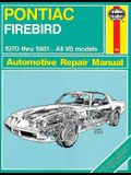 Pontiac Firebird V8, 1970-1981: All V8 Models