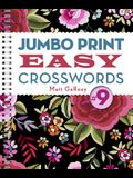 Jumbo Print Easy Crosswords #9