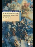 European Political Thought 1600-1700