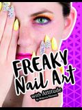 Freaky Nail Art with Attitude: 4D an Augmented Reading and Fashion Experience