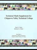 Technical Math Supplement for Chippewa Valley Technical College