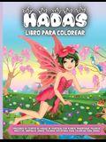 Hadas Libro Para Colorear: Un divertido libro de colorear para niños de 4 a 8 años