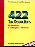 422 Tax Deductions for Businesses and Self-Employed Individuals (475 Tax Deductions for Businesses & Self-Employed Individuals)