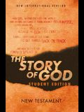 Niv, the Story of God, Student Edition, New Testament, Paperback