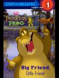 Big Friend, Little Friend (Turtleback School & Library Binding Edition) (Disney Princess: Princess and the Frog (Pb))