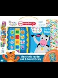 Baby Einstein Me Reader Jr 8-Book Library [With Electronic Reader and Battery]