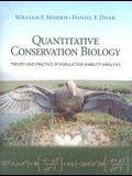 Quantitative Conservation Biology: Theory and Practice of Population Viability Analysis