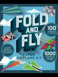 Fold and Fly Paper Airplane Kit