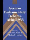 German Parliamentary Debates, 1848-1933