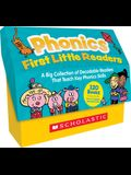 Phonics First Little Readers (Classroom Set): A Big Collection of Decodable Readers That Teach Key Phonics Skills