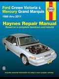 Ford Crown Victoria & Mercury Grand Marquis 1988 Thru 2011 Haynes Repair Manual: 1988 Thru 2011