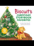 Biscuit's Christmas Storybook Favorites: Includes 9 Stories Plus Stickers!