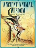Ancient Animal Wisdom: Deck & Book Set [With Booklet]