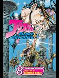 Jojo's Bizarre Adventure: Stardust Crusaders, Vol. 8