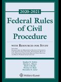 Federal Rules of Civil Procedure with Resources for Study: 2020-2021 Statutory Supplement
