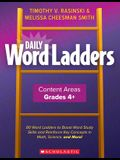 Daily Word Ladders Content Areas, Grades 4-6