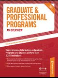 Graduate & Professional Programs: An Overview (Peterson's Graduate & Professional Programs: Overview)