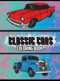 Classic Cars Coloring Book: Volume 3