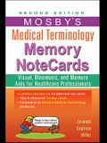 Mosby's Medical Terminology Memory NoteCards