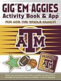 Gig 'Em Aggies Activity Book and App