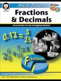 Math Tutor: Fractions and Decimals, Ages 9 - 14: Easy Review for the Struggling Student