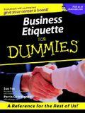 Business Etiquette For Dummies (For Dummies (Lifestyles Paperback))