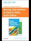 Nursing Skills Online Version 4.0 for Nursing Interventions & Clinical Skills (Access Code)