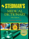 Stedman's Medical Dictionary [with Cdrom] [With CDROM]