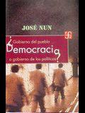 Democracia Gobierno del Pueblo O Gobierno de Los Politicos?