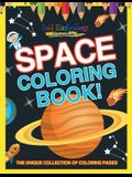 Space Coloring Book! the Unique Collection of Coloring Pages