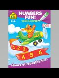 Math Readiness a Wipe-Off Book: Hours of Reusable Fun!