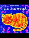 I Can Draw Animals (Usborne Playtime Series)