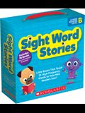 Sight Word Stories: Level B (Parent Pack): 25 Easy Books That Jumpstart Reading Success