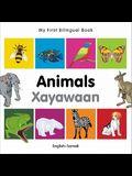 My First Bilingual Book-Animals (English-Somali)