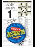 Mensa Crossword Page-A-Day and Notepad 2012 Calendar