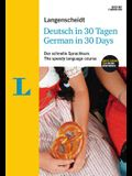 Langenscheidt German in 30 Days - The Speedy Language Course: The Language Course for English Native Speakers