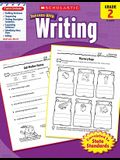 Scholastic Success with Writing: Grade 2 Workbook