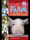 Farm Animals (Scholastic Reader, Level 2)