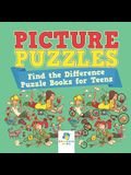 Picture Puzzles - Find the Difference Puzzle Books for Teens