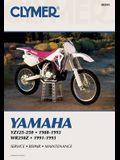 Clymer Yamaha Yz125-250; Wr250z, 1988-1993: Service, Repair, Maintenance