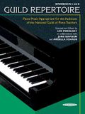 Guild Repertoire -- Piano Music Appropriate for the Auditions of the National Guild of Piano Teachers: Intermediate C & D