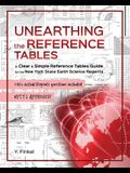 Unearthing the Reference Tables: A Clear & Simple Reference Tables Guide for the New York State Earth Science Regents