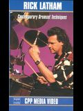 Contemporary Drumset Techniques: Video [With Booklet]