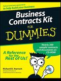 Business Contracts Kit for Dummies [With CDROM]