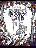 Adult Coloring Book: Horror Land Girls of Terror (Book 2)